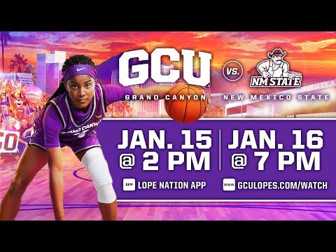 GCU Women's Basketball vs NMSU  |  Jan. 15, 2021