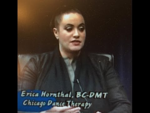 Erica Hornthal, BC DMT on Inner Quest TV produced by Infinity Foundation Highland Park, IL