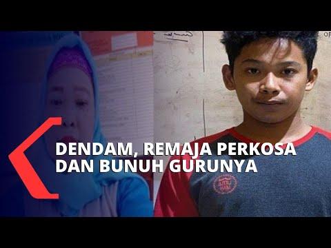 Karena Dendam, Remaja Nekat Perkosa dan Bunuh Guru SD-nya