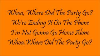 Where Did The Party Go|Fall Out Boy|Lyrics (Part 7 of 11)