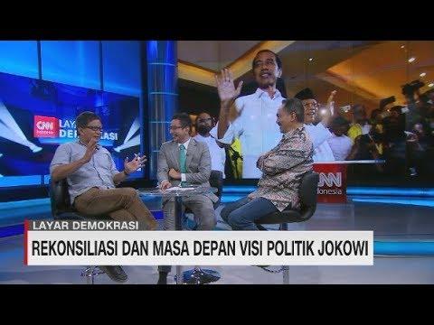 Rocky Gerung & Rizal Mallarangeng Bicara Rekonsiliasi Dan Visi Politik Jokowi #LayarDemokrasi