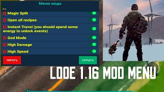 No Root Last Day On Earth 1.16 Mod Menu
