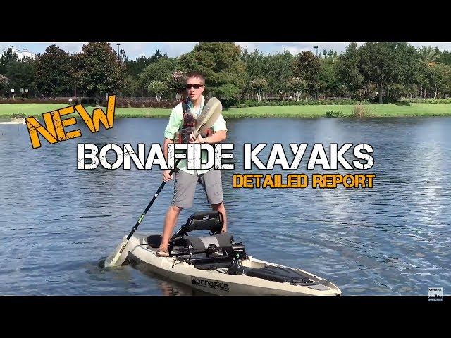 NEW: Bonafide Fishing Kayak (SS127 & SS107) DETAILED REPORT!