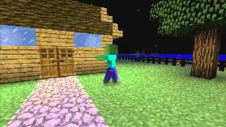 Zombies On Your Lawn(Minecraft Parody)