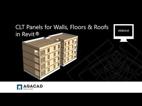 CLT Panels for Walls, Floors & Roofs in Revit
