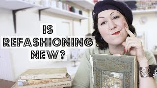 Is refashioning and up-cycling clothing a new idea??? What vintage sewing books can tell us!