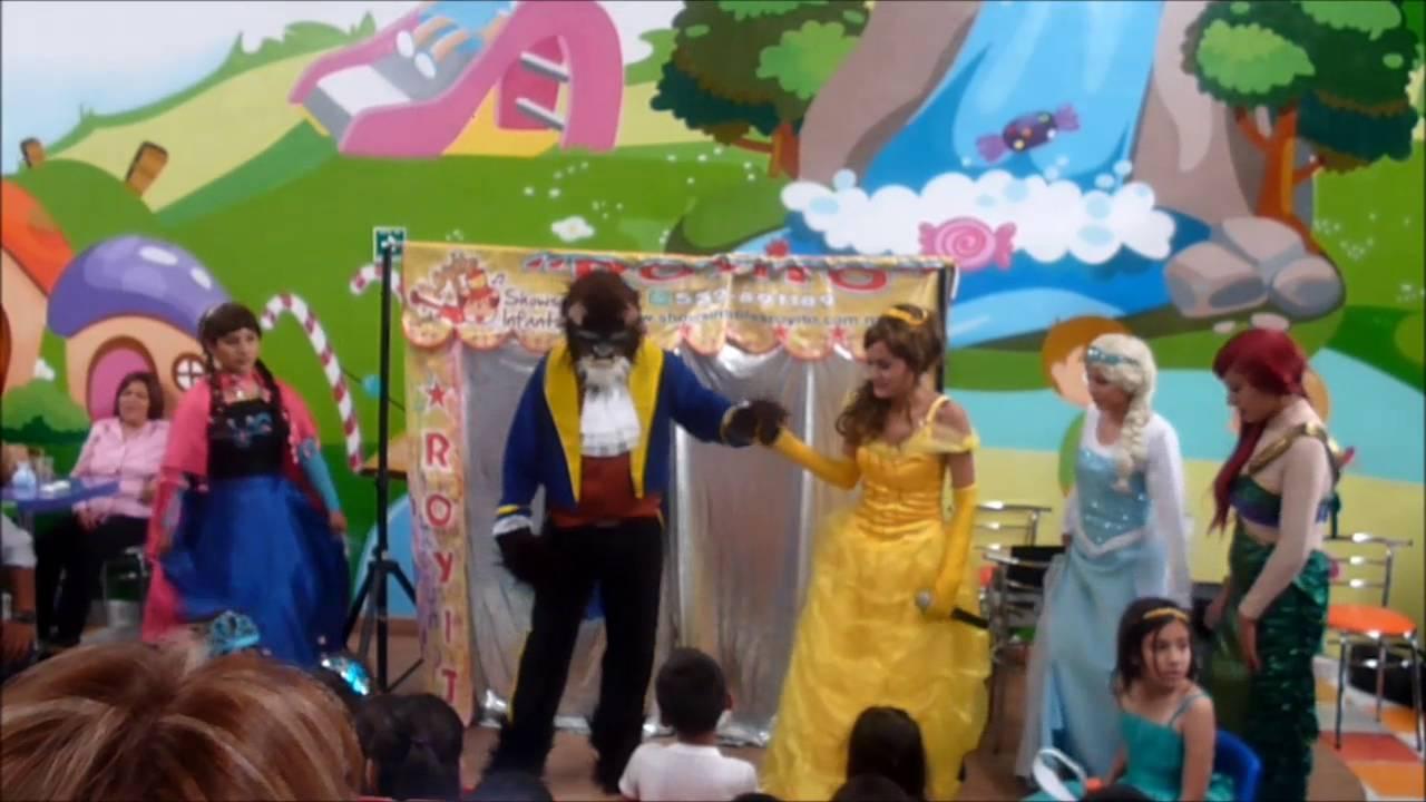 Show infantil de princesas disney personajes para fiestas - Fiestas infantiles princesas disney ...