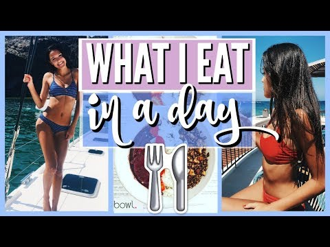 What I Eat In A Day || Greece Travel Edition