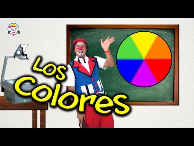 Colores primarios y secundarios, para niños