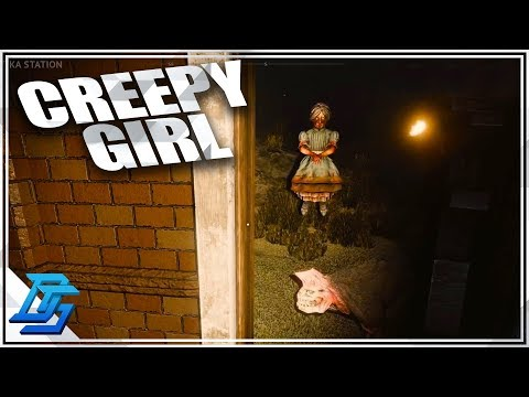 CREEPY GIANT PIT, SCARY GIRL! - DESOLATE - Pt. 6 - (Desolate Gameplay)