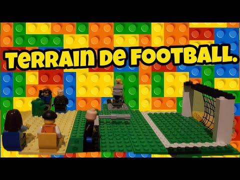 Terrain De Football En Lego !! 😉