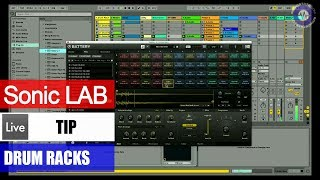 Sonic LAB: Ableton Live Tip - Using Battery With The Push Drum Grid
