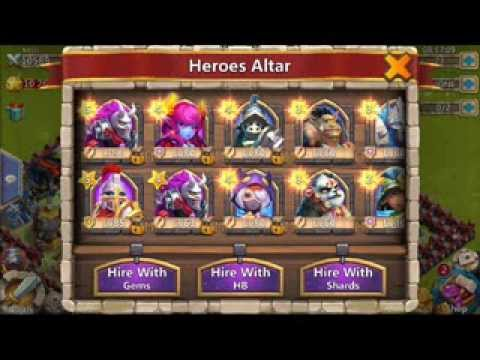 Castle Clash: Hido32. Heroes And Base W/ Ninja Lv100 !!