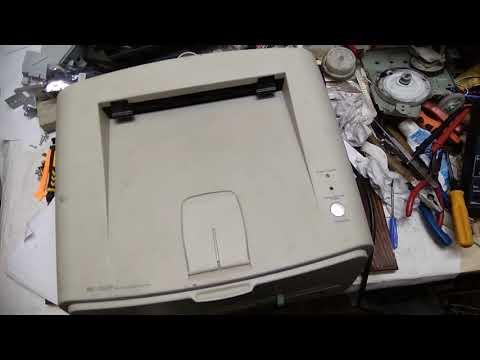 Samsung Ml 1520 P тест после ремонта