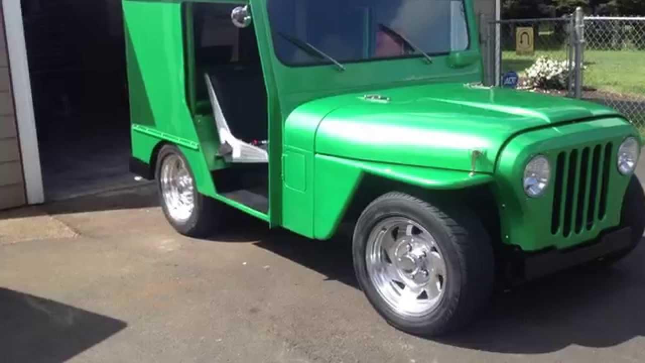 Hotrod Jeep on steroids walk around - YouTube