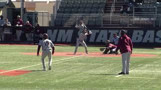 Highlights: NM State Baseball vs Texas Southern