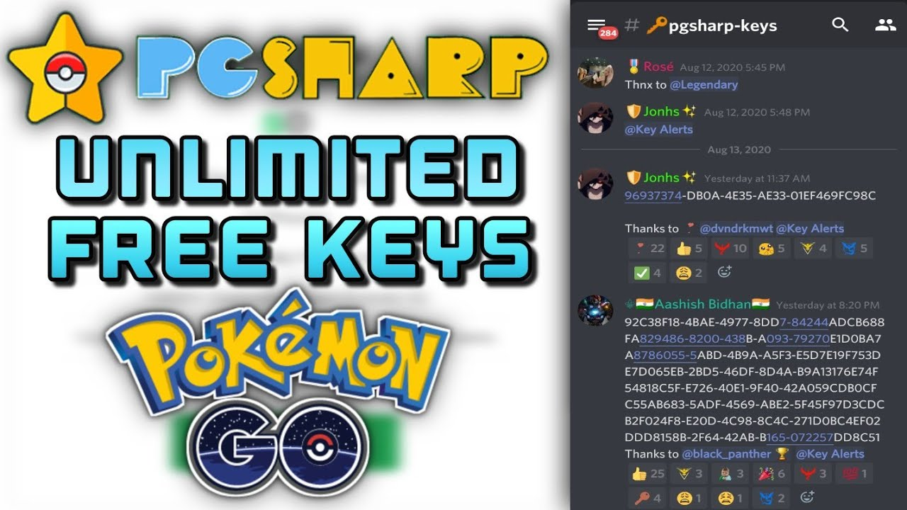 How To Get Unlimited Free Pgsharp Activation Keys In Pokemon Go Youtube