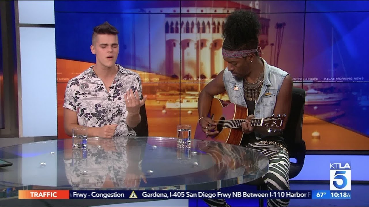 AJ Mitchell Performs LIVE on KTLA