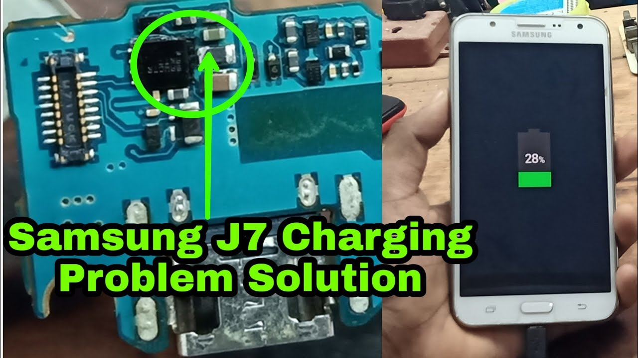 samsung j7 charging problem solution