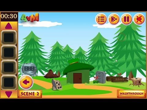 AVM Adventure Forest House Escape walkthrough AVMGames.
