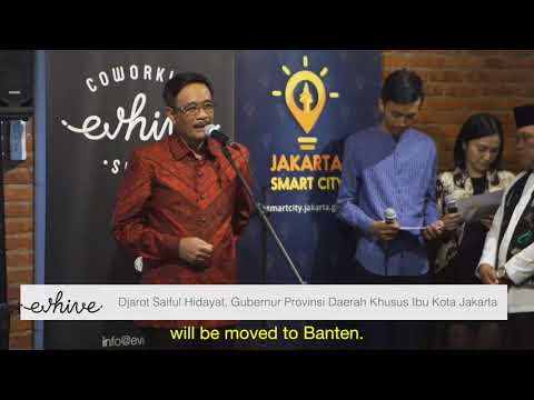 Jakarta Smart City Hive Coworking Space Launch