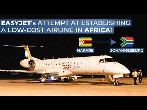 TRIPREPORT | Fastjet (ECONOMY) | Harare - Johannesburg O.R. Tambo | Embraer 145