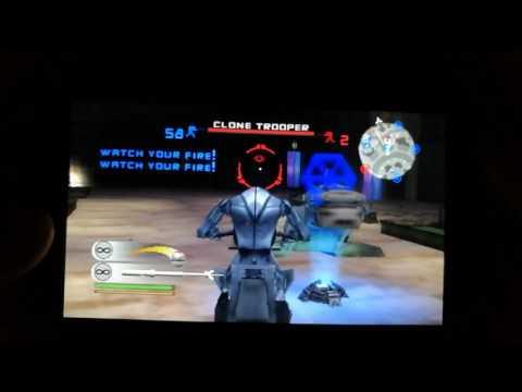 Star wars battlefront 2 PS Vita gameplay Naboo