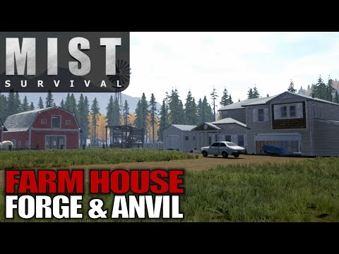 FARM HOUSE FORGE & ANVIL | Mist Survival | Let's Play Gameplay | S01E06