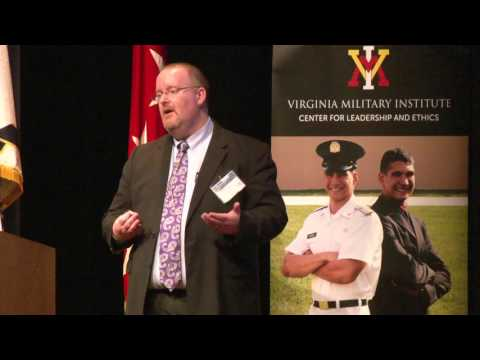 2016 VMI Leadership Conference: Day1 Panel2:  The Morality of Robotic Warfare