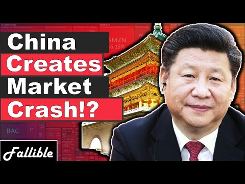 Market Crash From China's Yuan Devaluation? | Stock Market Crash