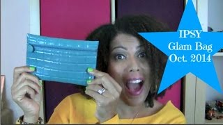 UNBAGGING! IPSY Glam Bag Oct 2014 | CurlyKimmyStar Thumbnail