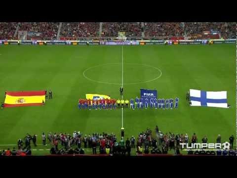 Gijonin ihme 22.03.2013: Espanja - Suomi 1-1 (YLE HD)