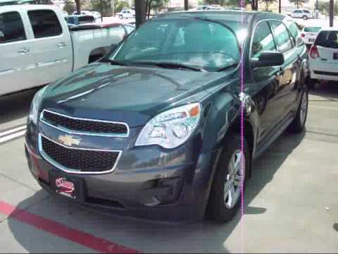 Classic Chevrolet Grapevine >> 2010 Chevrolet Equinox LS AWD Start Up, Exterior/ Interior Tour - YouTube