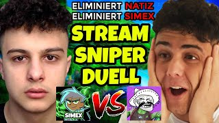 STREAMSNIPER Duell vs imNatiz um *1000€ OG SKINS* Account und den STREAM BEENDET.. Fortnite 2