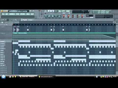 make it rain instrumental fl studio.wmv