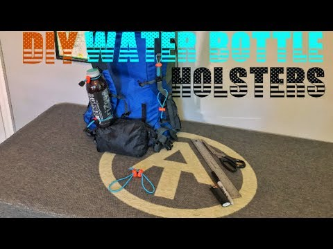 ultralight-backpacking-gear-water-bottle-holsters-diy
