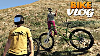 GTA V: Bike Vlog trilha no Monte Chiliad