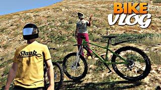 GTA V: Bike Vlog trilha no Monte Chiliad