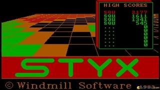 Styx gameplay (PC Game, 1984)