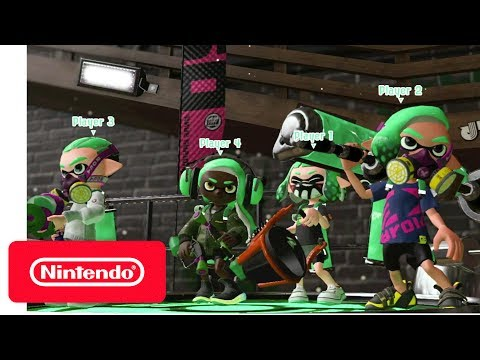 Splatoon 2 - Turf War (Show Floor) Demonstration - Nintendo E3 2017