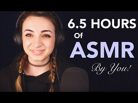 401 MINUTES OF ASMR | 401 ASMRTISTS |  Gibi Community Collaboration