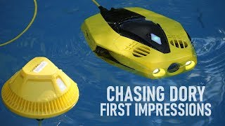 Budget Underwater Drone   Chasing Dory ROV - First Impressions   DansTube.TV