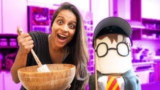 BAKING AN EPIC HARRY POTTER CAKE