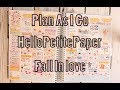Plan With Me || HelloPetite Paper || Fall In love