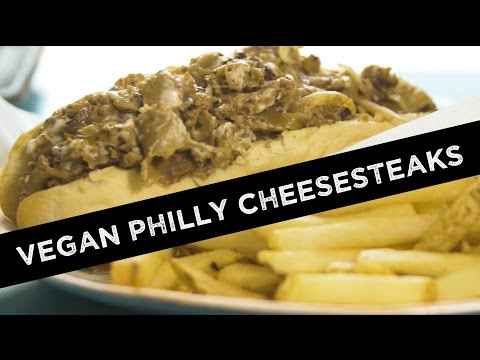 Vegan Philly Cheesesteaks