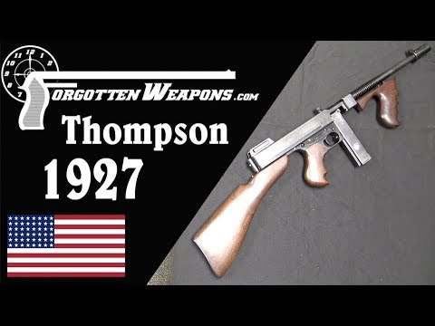 Model 1927 Thompson Semi Automatic Carbine