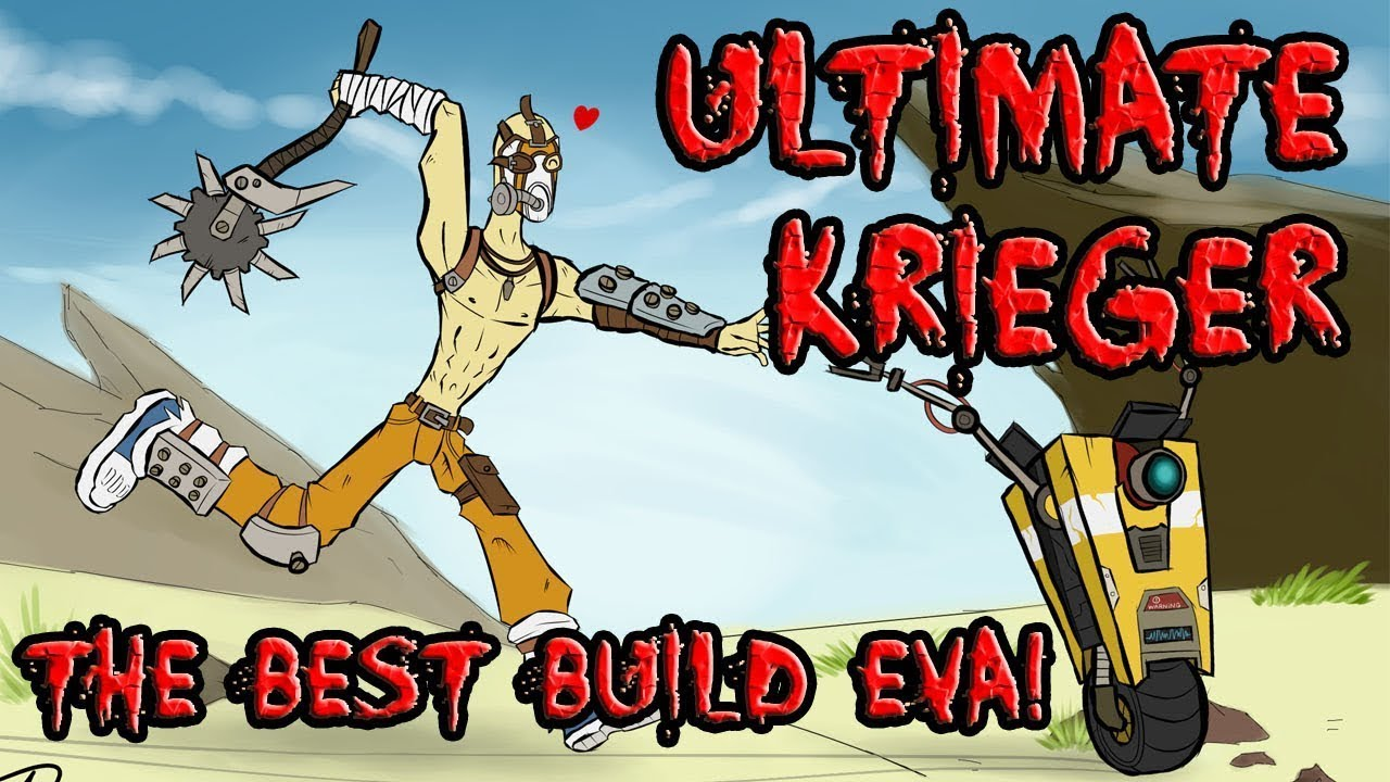 Borderlands 2: Ultimate Krieger - The best Krieg/Psycho ... Borderlands 2 Psycho Build