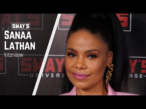 Sanaa Lathan Talks Love & Basketball, Emmy Nominations & Jordan Peele | Sway's Universe