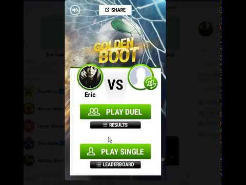 Golden Boot - New Messenger Game HACK Score Over 5,001