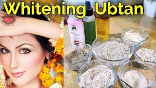 Ubtan to Get Fairness Instantly  Best Moisturizing Ubtan  Whitening Face Pack Urdu Hindi